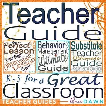 Teacher Guide - Perfect Lesson & Behavior Management BUNDLE