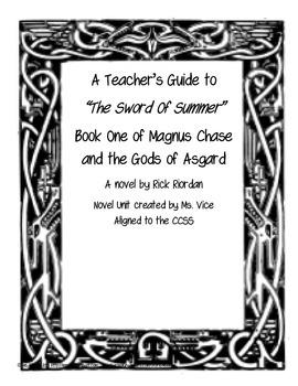 Teacher Guide for the Sword of Summer