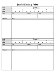 Teacher Guided Reading Note Template