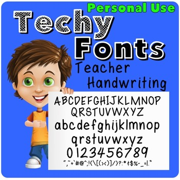 Teacher Handwriting Font for Personal Use
