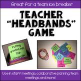 """Teacher """"Headbands"""" Game"""