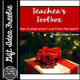 Teacher Holiday Toolbox--Real-Life Tips, Bag Tags & Ideas