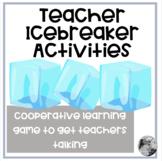 Teacher Icebreaker Activity Cards