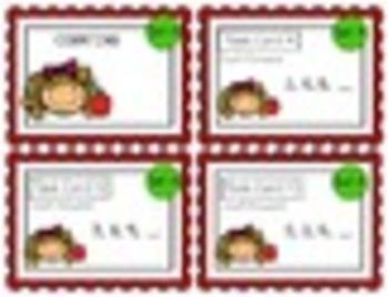 """""""Teacher, I'm Done!"""" Task Cards September 1st GRADE"""