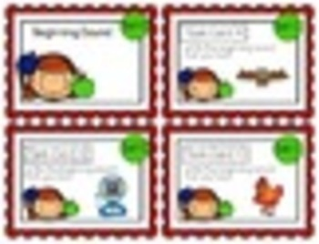 "1st Grade ""Teacher, I'm Done!"" Task Cards September"