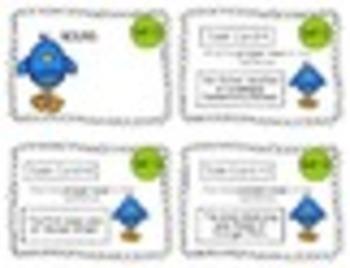 """2nd Grade """"Teacher, I'm Done!"""" Task Cards for April"""