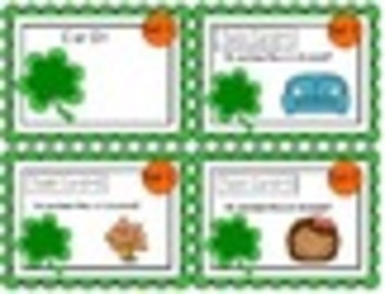"""1st Grade """"Teacher, I'm Done!"""" Task Cards for March"""