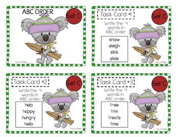 "2nd Grade ""Teacher, I'm Done!"" Task Cards for Winter"