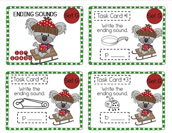 """""""Teacher, I'm Done!"""" Task Cards for Winter 1st GRADE"""