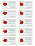 Teacher Info Card