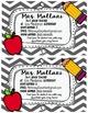 Teacher Info Card (Freebie)
