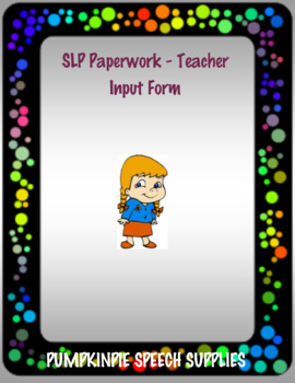 Teacher Input for Speech Students #oct2018slpmusthave