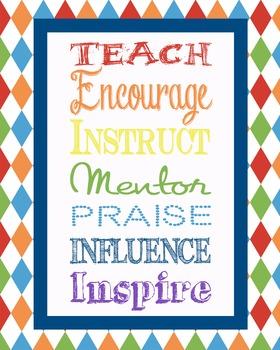 Teacher Inspiration