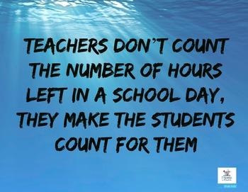 Teacher Inspiration Posters