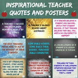 Teacher Inspiration Posters