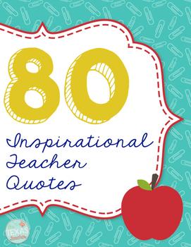 Teacher Inspiration Slips