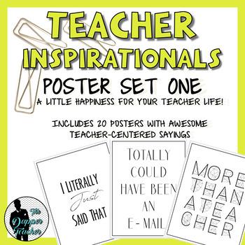 Teacher Inspirationals - Poster Edition