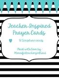 Teacher Inspired Prayer Cards