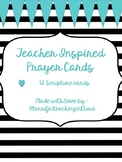Teacher Inspired Prayer Cards