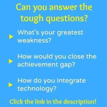 Teacher Interview Answers! Are You Ready for Your Big Opportunity?