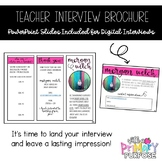 Teacher Interview Brochure