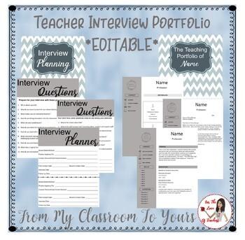 Teacher Interview Portfolio