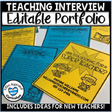 Teacher Interview Portfolio Editable /  Teaching Portfolio