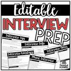 Teacher Interview Prep | EDITABLE