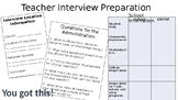 Teacher Interview Preparation