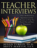 Teacher Interviews:  Over 100 Questions and the Answers