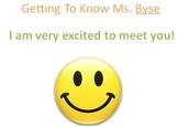 Teacher Introduction