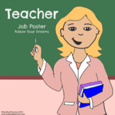 Teacher Job Poster - Discover Your Passions