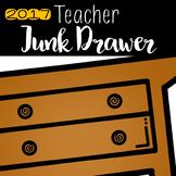 Teacher Junk Drawer 2017