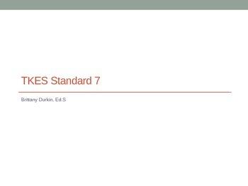 Teacher Keys Effectiveness System (TKES) Standard 7 PD presentation