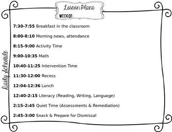 Keys Effectiveness System TKES Editable Lesson Plan Template - Otes lesson plan template