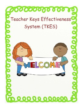 Teacher Keys Effectiveness System (TKES) Notebook- Male Teachers