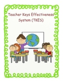 Teacher Keys Effectivness System (TKES) Notebook Organizer