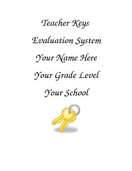 Teacher Keys Notebook Cover