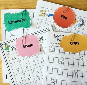 Teacher Labels FREEBIE