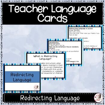 Teacher Language Cards