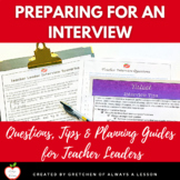 Teacher Leader Interview Questions, Tips & Planning Guide
