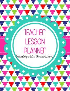 Teacher Lesson Plan Book