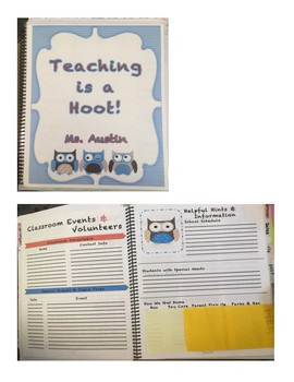 Teacher Lesson Plan Book
