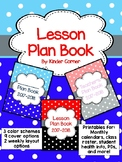 Teacher Planner 2017-2018 – Polka Dot Theme