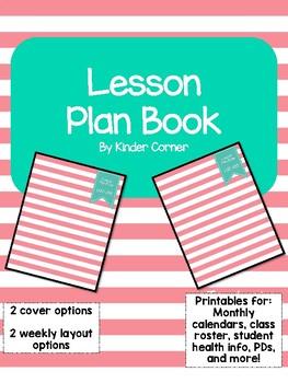 Teacher Planner 2017-2018