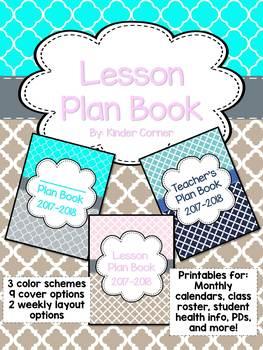Teacher Lesson Plan Book {Binder}