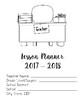 Teacher Lesson Plan Book July 2017-June 2018