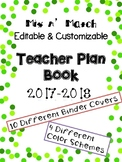 Teacher Lesson Plan Book: Mix n' Match Polka-Dot