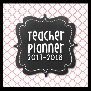 Teacher Lesson Planner {Pink & Grey Themed}
