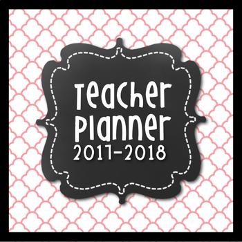 Teacher Lesson Planner {Pink & Grey Themed}